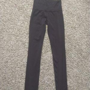 Lululemon Sz 4T Full Length Mid Rise Leggings
